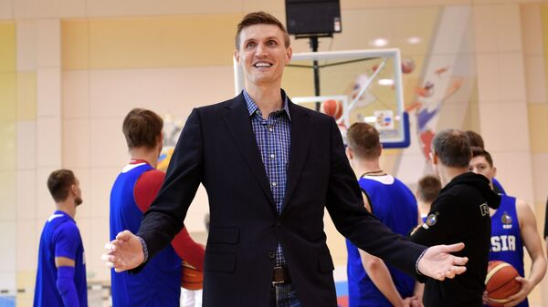 Президент федерации баскетбола России Андрей Кириленко