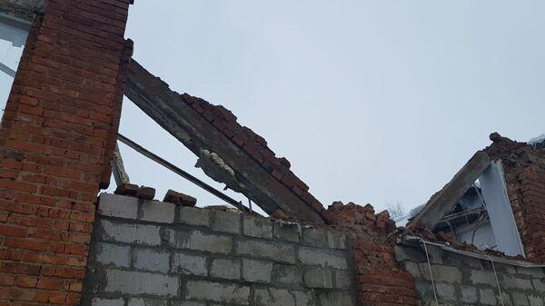 Обрушение кровли школьной столовой в городском округе Можайский Московской области. 20 февраля 2019