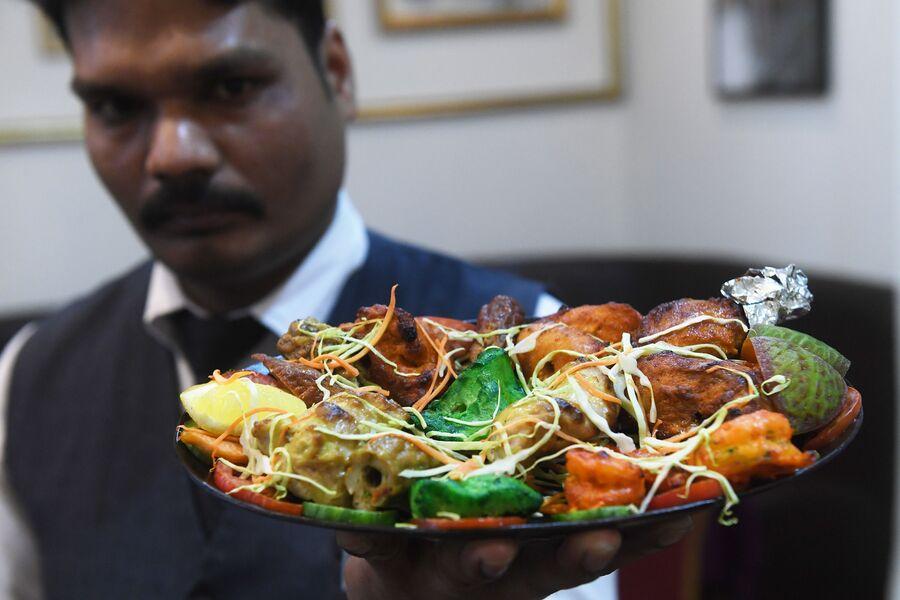 Кебаб Платтер, кафе индийской кухни