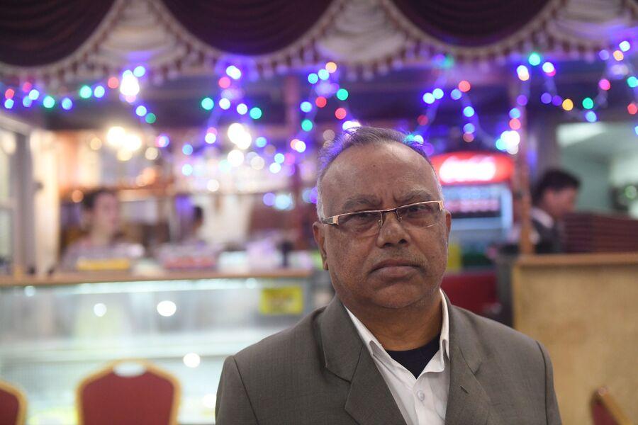 Владелец кафе индийской кухни Нареш Чуккала