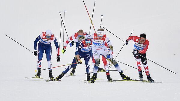 Гонка на чемпионате мира в Австрии
