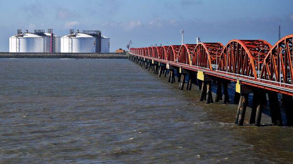 Прибытие  двух танкеров со сжиженным газом проекта Ямал СПГ в Китай