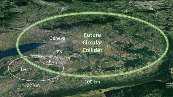 Проект Будущего кольцевого коллайдера (Future Circular Collider, FCC)