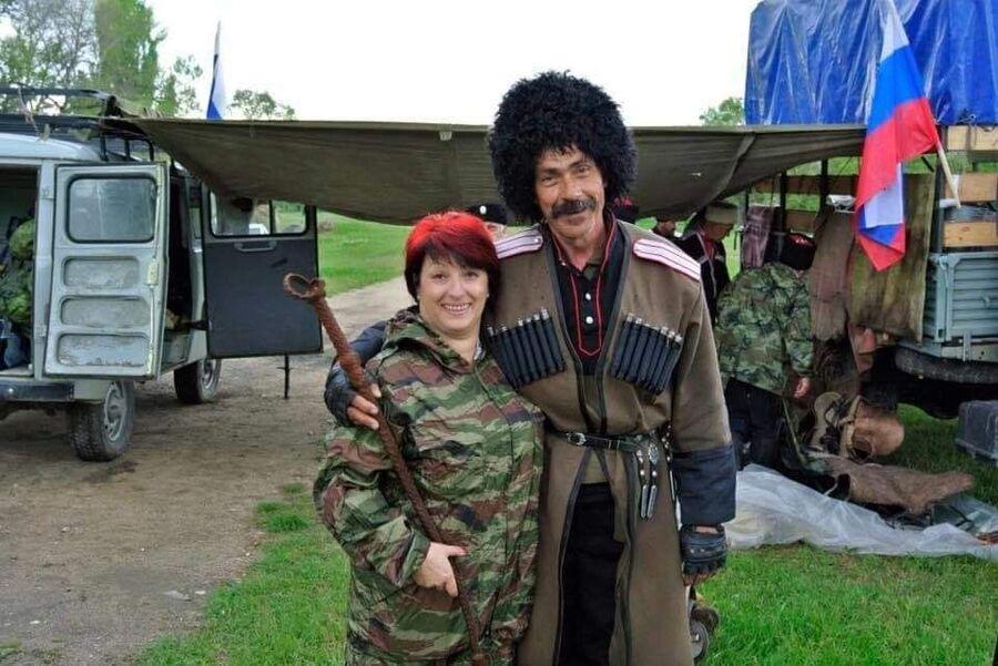 Татьяна Савицкая и Сергей Звездов