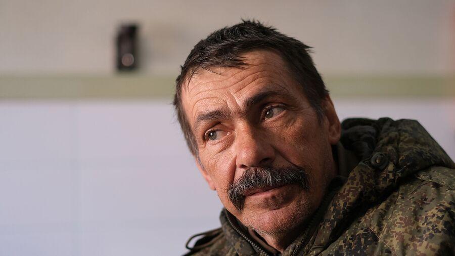 Замкомандира 1-й казачьей роты специального назначения Сергей Звездов