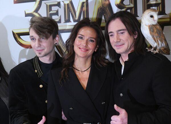 Музыканты Андрей Храмов, Елена Север и Игорь Нелин