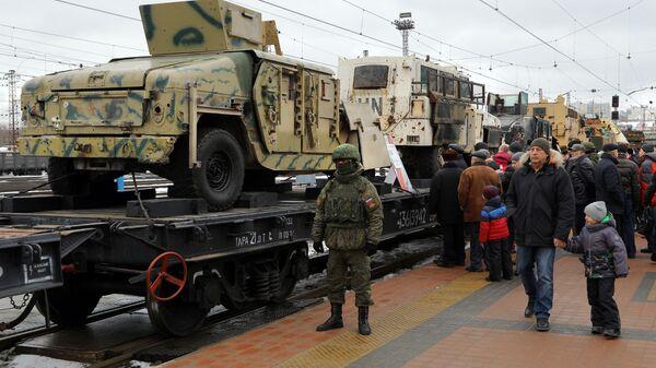 Поезд Сирийский перелом в Белгороде
