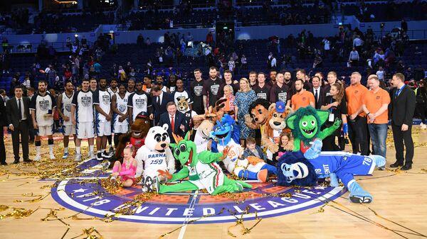 Третий в истории Матч звезд баскетбольной Единой лиги ВТБ завершился победой команды Звезды мира над командой Звезды России