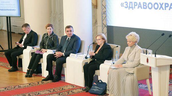 Глава Тульской области рассказал о развитии медицины в регионе