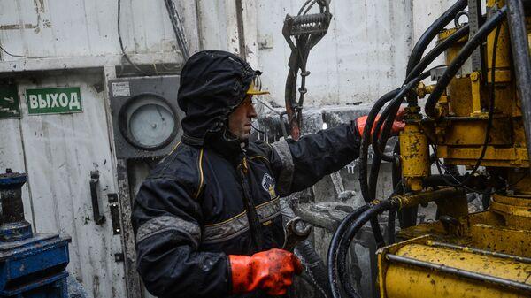 Буровая установка в Красноярском крае. Архивное фото