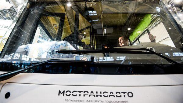 Автобус компании Мострансавто