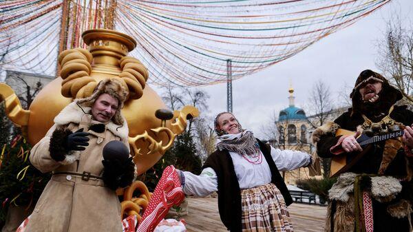 Фестиваль Московская масленица