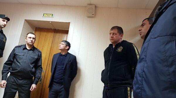 Избрание меры пресечения Александру Емельяненко. 2 марта 2019