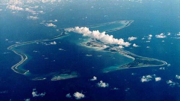 Атолл Диего-Гарсия архипелага Чагос в Индийском океане