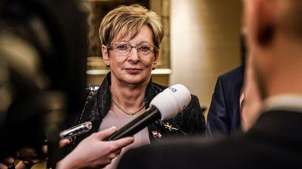 Министр промышленности и торговли Чехии Марта Новакова