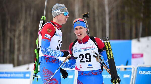 Никита Поршнев (слева) и Эдуард Латыпов