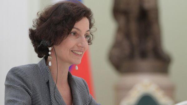 Генеральный директор ЮНЕСКО Одре Азуле