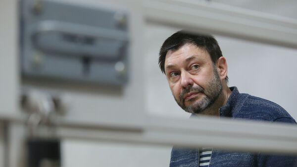 Российские журналисты попросили Зеленского помочь освободить Вышинского