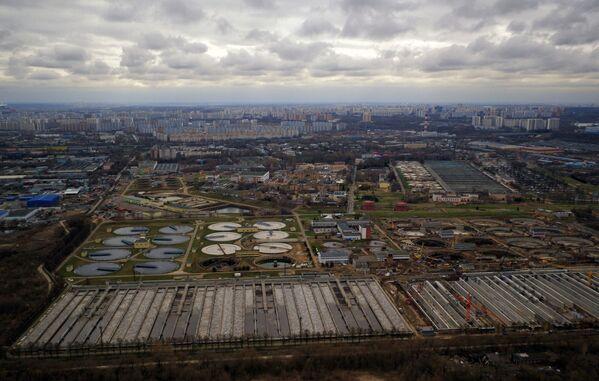 Новокурьяновские очистные сооружения в Москве