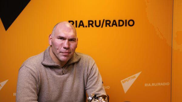 Депутат Госдумы и экс-чемпион мира по боксу в супертяжелом весе Николай Валуев в  эфире радио Sputnik