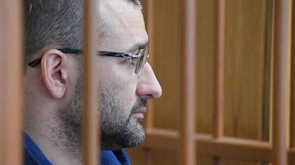 Бывший первый замглавы Росгеологии Руслан Горринг на заседании суда