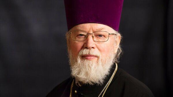 Настоятель Казанского кафедрального собора города Санкт-Петербурга протоиерей Павел Красноцветов