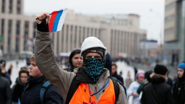 Cогласованная акция в Москве. 10 марта 2019