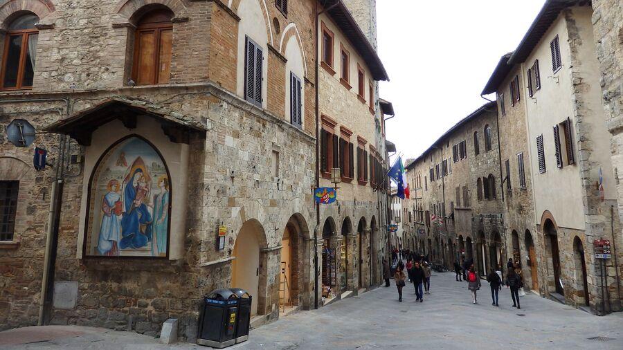 Тоскана. Сан-Джиминьяно
