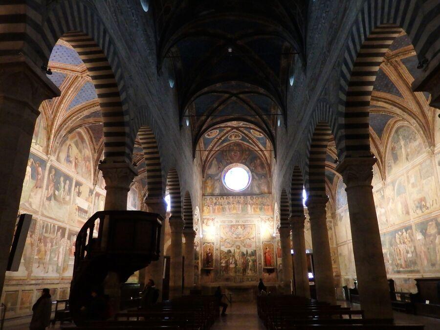 Тоскана. Собор Сан-Джиминьяно