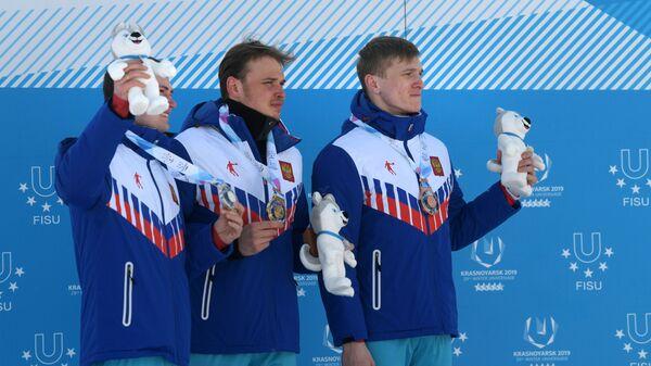 Антон Тимашов, Иван Якимушкин и Иван Кириллов (слева направо)