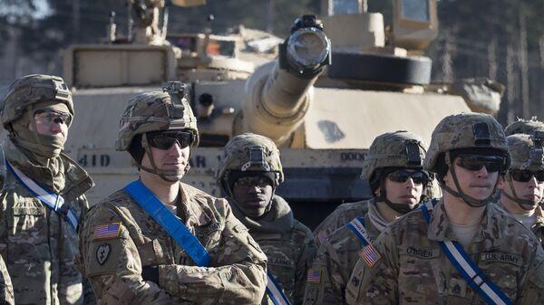 Солдаты армии США в Литве