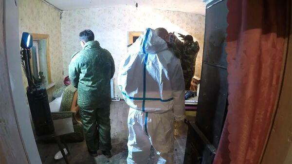 Спецоперация в селе Екатериновка Безенчукского района Самарской области