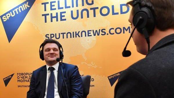 Генеральный директор ФГУП Почта России Николай Подгузов в эфире радио Sputnik