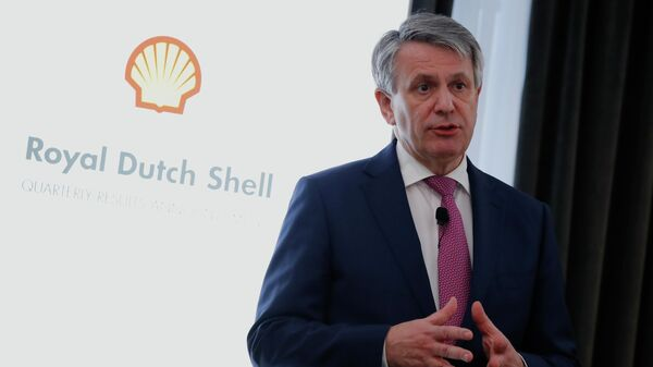 Главный исполнительный директор, Royal Dutch Shell Plc Бен ван Берден