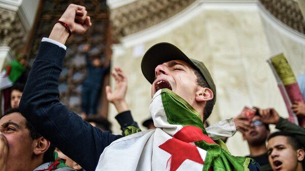 Демонстрации в Алжире. 10 марта 2019