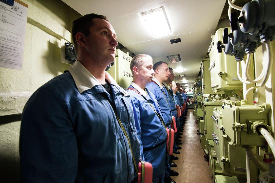 Экипаж подводного крейсера Юрий Долгорукий