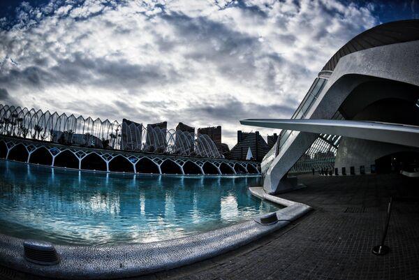 Архитектурный комплекс Город Науки и Искусств в Валенсии