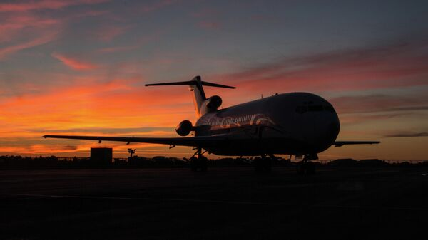 Самолет Boeing 727