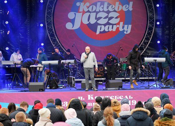Генеральный директор МИА Россия сегодня Дмитрий Киселев на Koktebel Jazz Party фестиваля Крымская весна