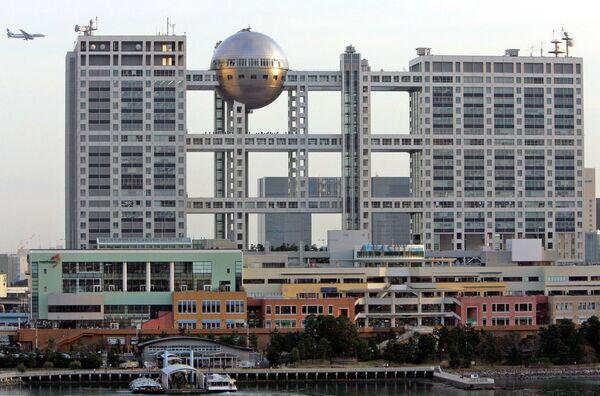 Здание Fuji Television в Токио