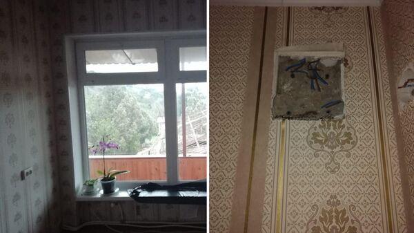 Розетки до и после выселения Светланы Ильиновой