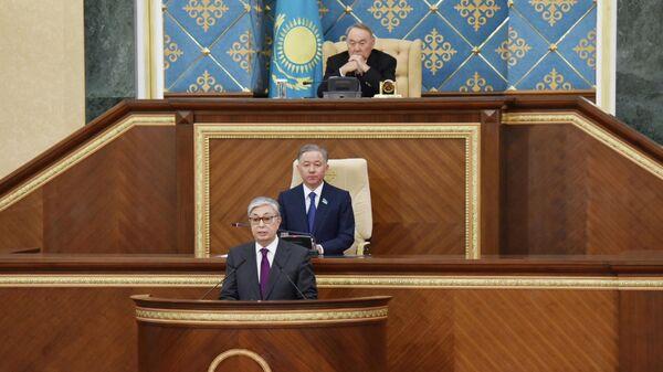 Церемония передачи полномочий президента Казахстана Касым-Жомарту Токаеву. 20 марта 2019