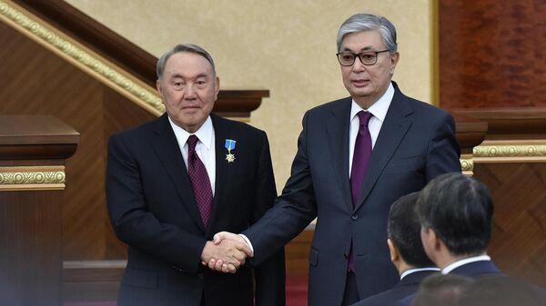 Новый глава Казахстана в первом интервью отдал дань уважения Назарбаеву