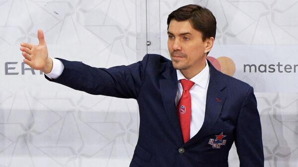 Главный тренер ЦСКА Игорь Никитин