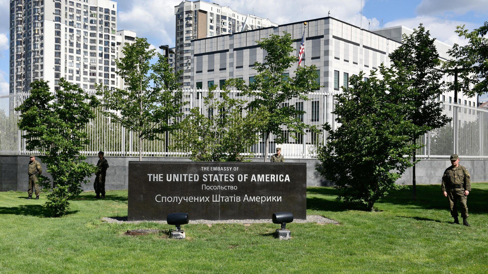 Здание посольства США в Киеве - РИА Новости, 1920, 23.03.2019