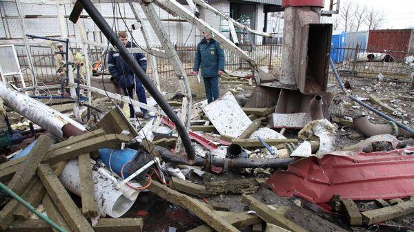 Взрыв котельной в совхозе Масловский Воронежской области. 22  марта 2019