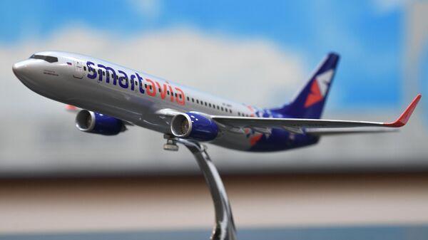 Модель самолета авиакомпании Smartavia