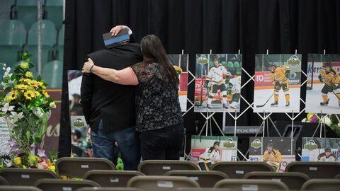 Хоккеисты канадской юниорской команды Гумбольдт Бронкос, погибшие в ДТП