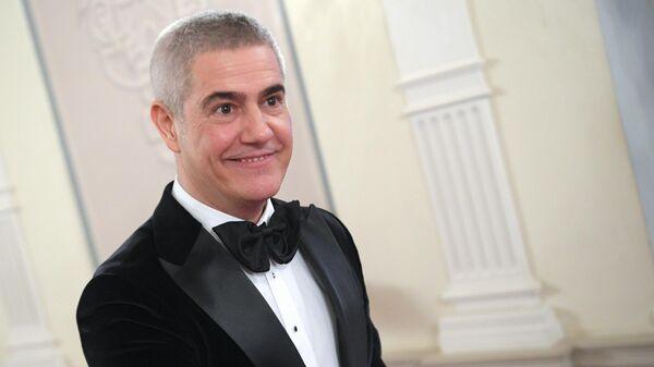 Оперный и эстрадный певец Алессандро Сафина перед Второй церемонией вручения наград Международной профессиональной музыкальной премии BraVo