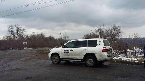 Патруль СММ ОБСЕ прибыл в район планируемого к открытию КПП в Донбассе